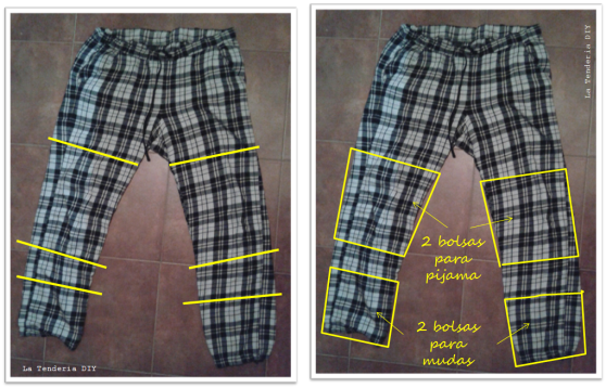 (3) La Tenderia DIY_Bolsitas para organizar la maleta
